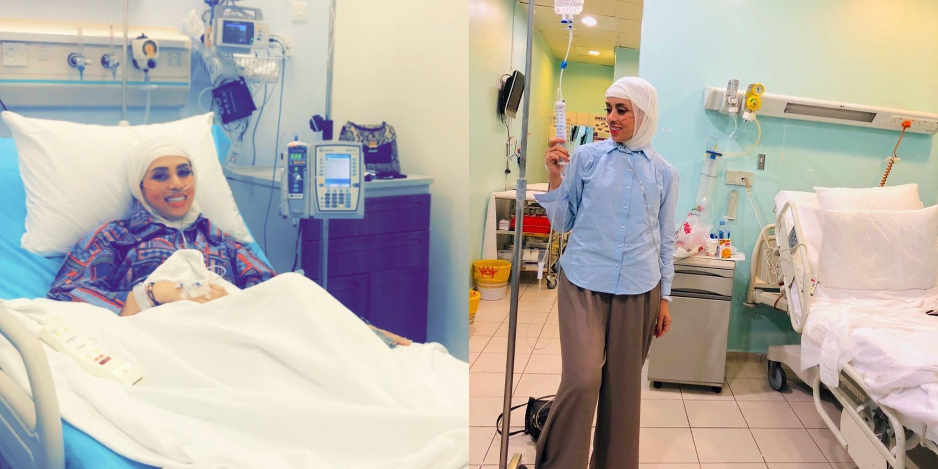 محاربة السرطان شيماء العيدي إلى المستشفى مجددا بوضع حرج صورة Lab Coat Coat