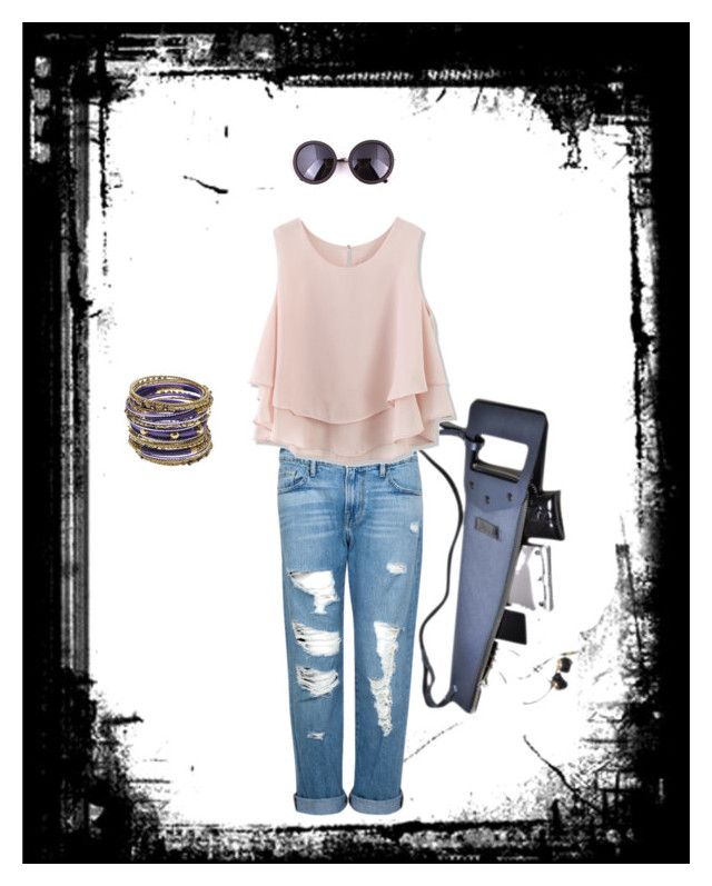 Pomch Saw Bag by brand-incubator-1mishap on Polyvore featuring Chicwish, Frame Denim and Amrita Singh