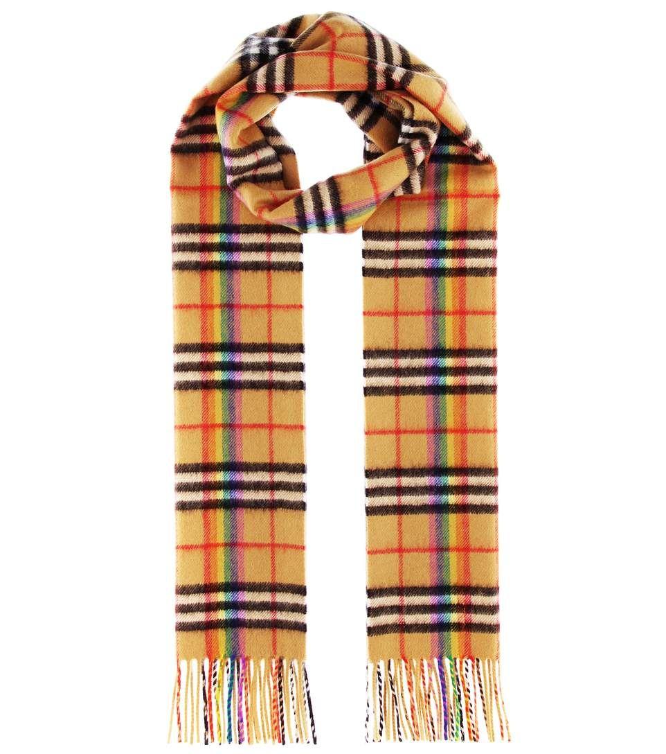 0e87ae3d7d4 BURBERRY The Classic Rainbow cashmere scarf.  burberry