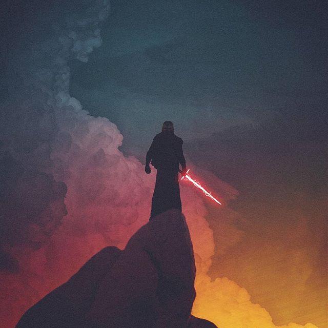 Kylo Ren By Maxwellthebeech On Reddit Starwars Star Wars Wallpaper Star Wars Geek Star Wars