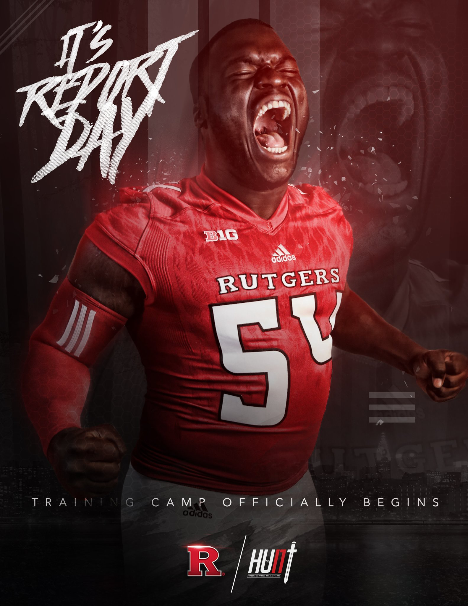 Rutgers Sports Design Sports Graphics Miami Football