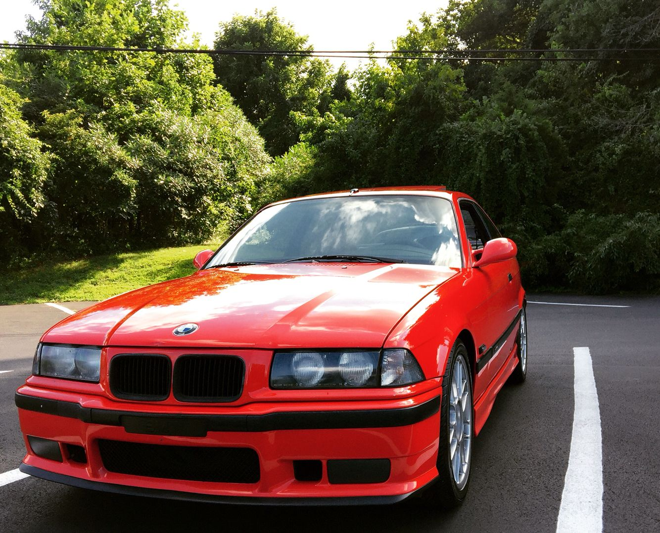 My e36 m3 red Muggello Rot S50b30 coupe Bmw, Coupe, Car