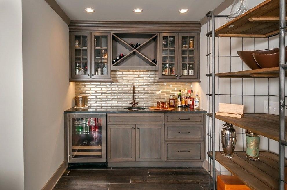 image result for industrial wine bar cabinet  basement