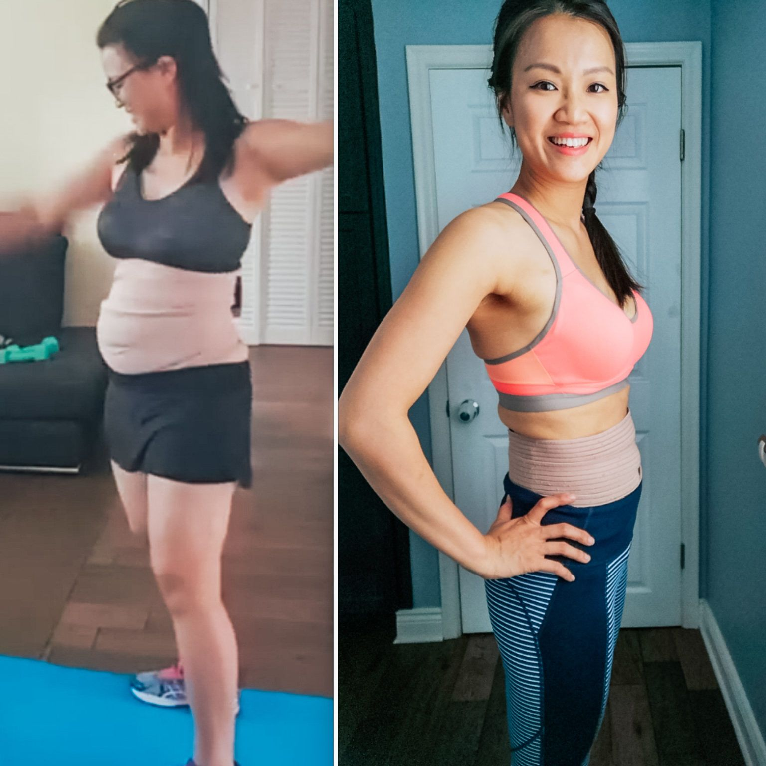 Wrapping Stomach After Giving Birth Postpartum Stomach Getting Back In Shape Flatter Stomach