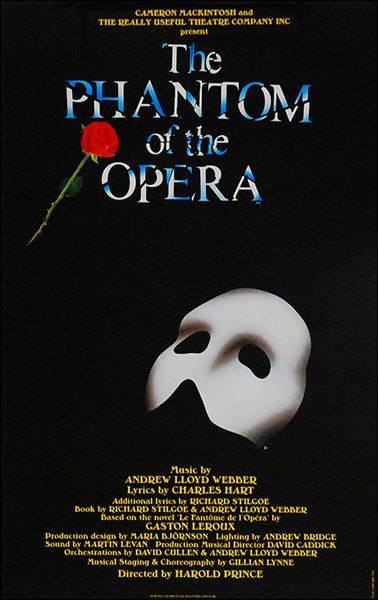 Christmas Gift One Year From My Mom Seeing The Phantom Of The