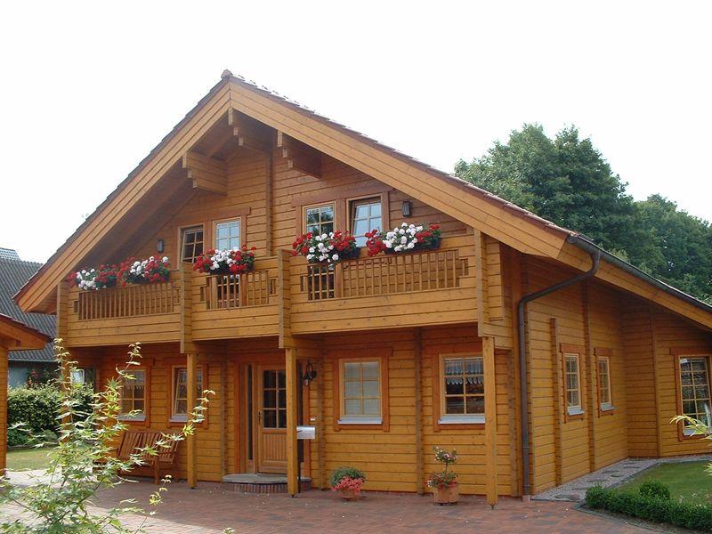 Blockhaus Hodebeck Haus Nordic Haus Blockhaus