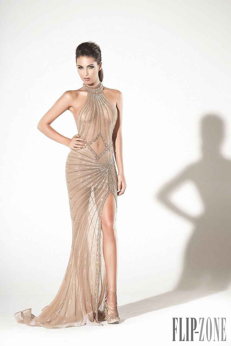 Charbel zoé springsummer couture casual gowns collection