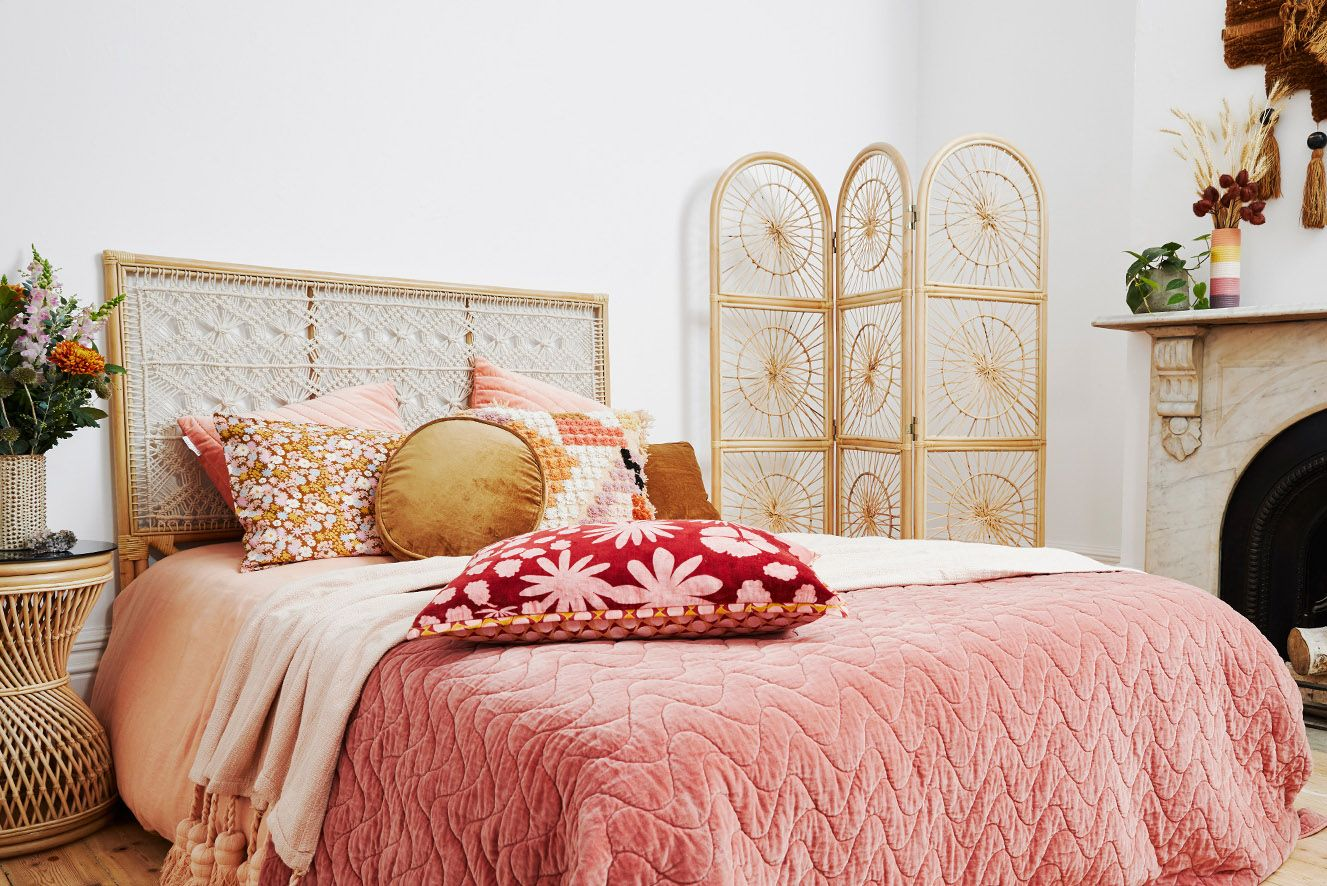 These Boho Headboards Will Give Your Entire Bedroom a New ... on Modern Boho Bed Frame  id=66519