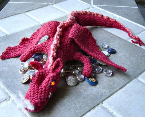Crochet Dragon - Smaug From the Hobbit | Puppen und Tier