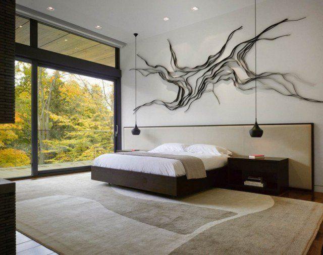 Chambre adulte blanche: 80 idées pour votre aménagement   Chambre ...
