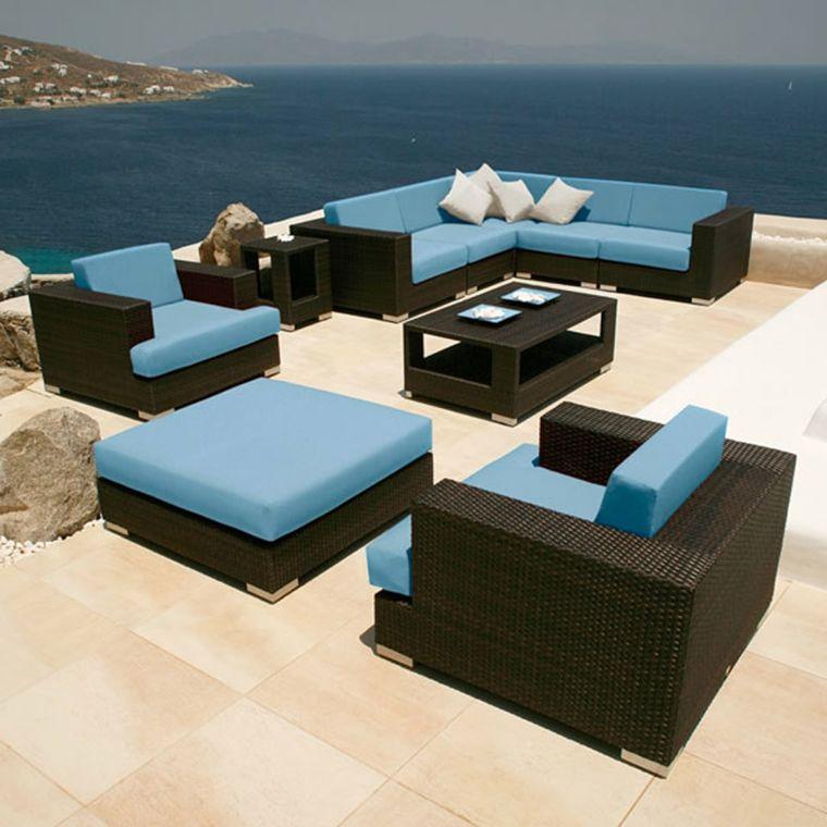 Muebles de terraza y jardín para decorar | Balconies