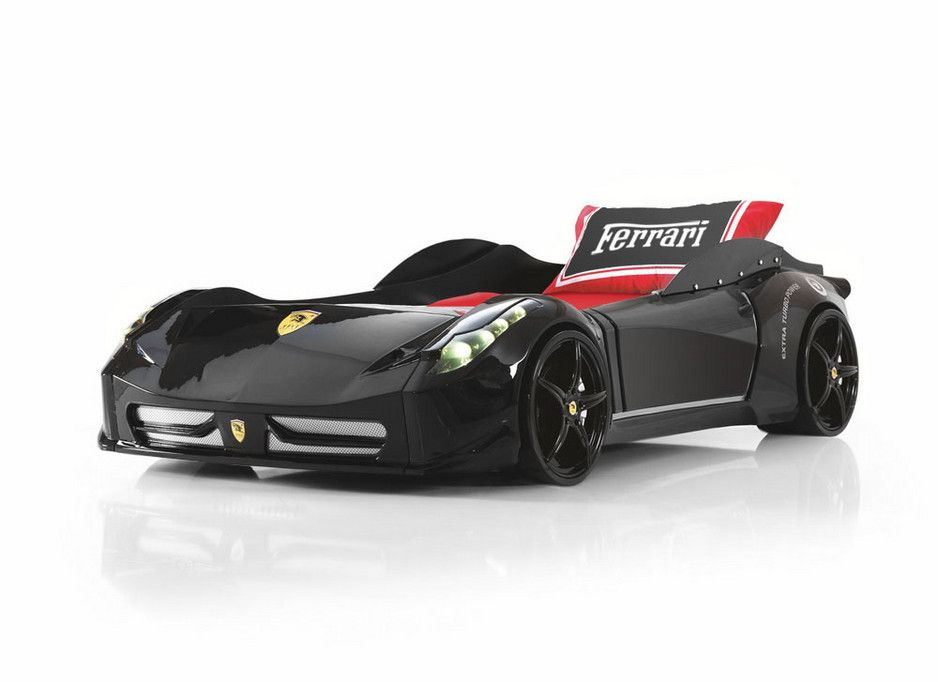 Ferrari F1 Aero Black Race Car Bed Fast Car Beds Furniture