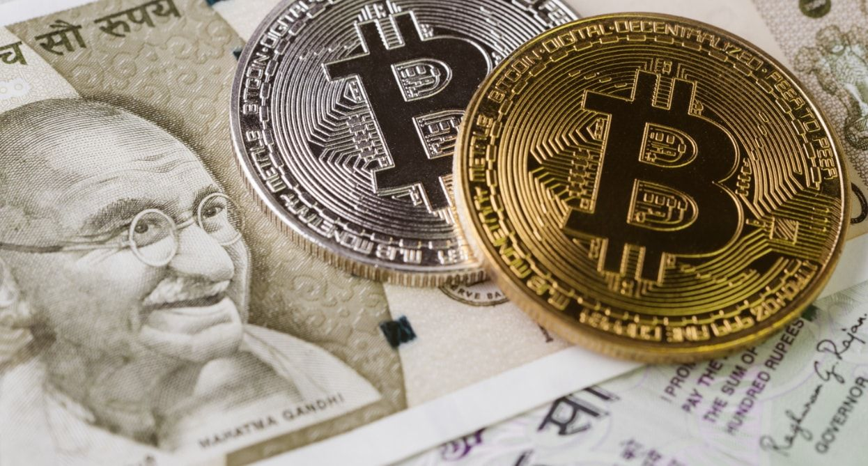 bitcoin value indian rupees