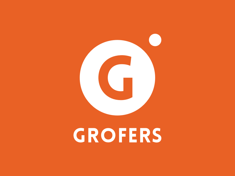The Story Of The Grofers Logo Logos Pinterest Logo Logo Design