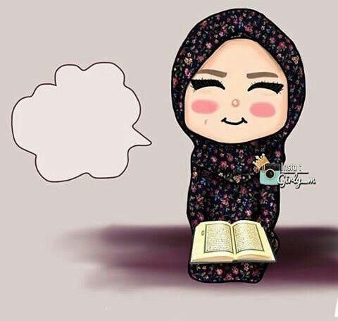 صور بنات محجبه و صور رسم بنات محجبة Illustration Cizimler Islami Sanat