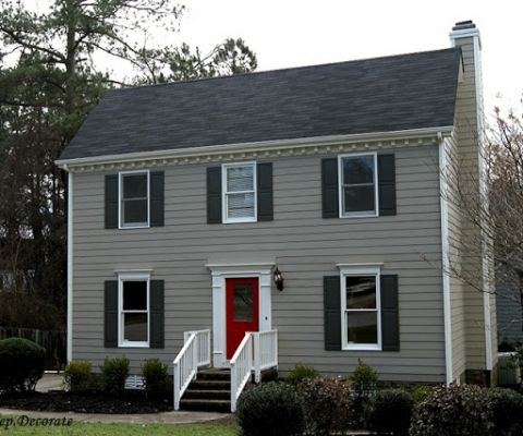 Benjamin moore platinum gray exterior paint home painting for Benjamin moore nantucket gray exterior