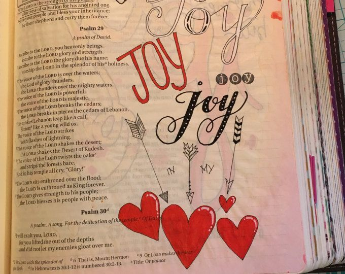 Bible Journaling Printable Joy