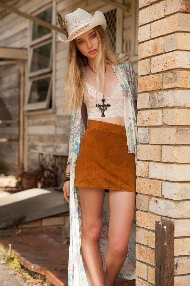 http://www.arnhem.co/bonita-mini-skirt-tan-suede/) $145 | Fashion ...