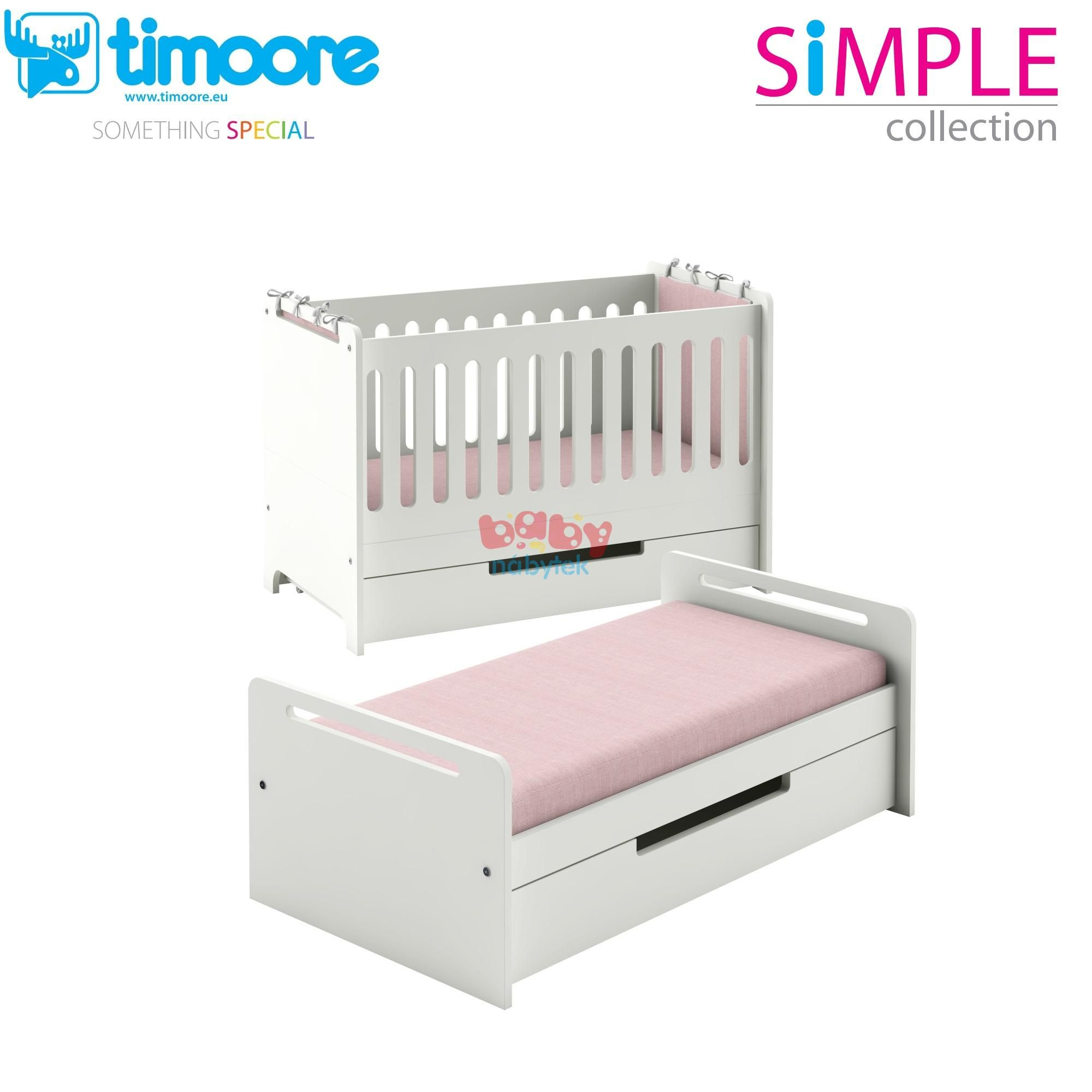 Rocking crib for sale doncaster - Post Lka Simple 140x70cm