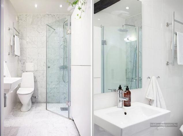 Tetőtér berendezés stílusosan, a nem túl szerencsés adottságokhoz - vorhänge für badezimmer
