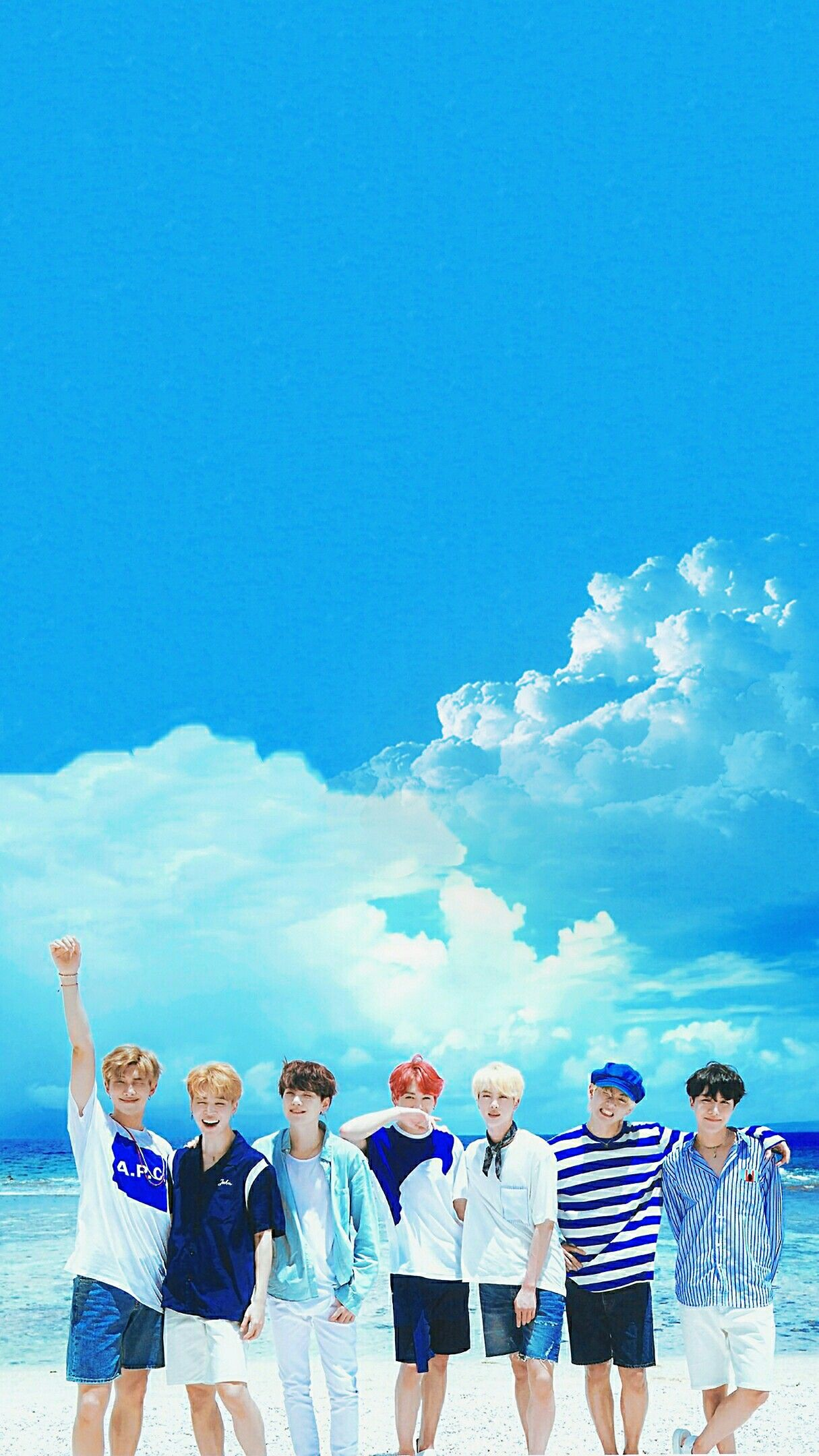 Bts Edits Bts Wallpapers Bts 2018 Summer Package In Saipan Pls Make Sure To Follow Me Before U Save It Find More Bts Backgrounds Bts Wallpaper Foto Bts Bts summer package wallpaper lockscreen