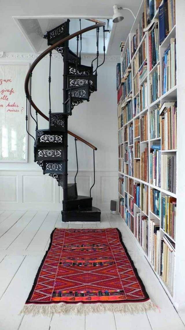 60 Idees D Escalier Colimacon Pour L Interieur Et Pour L Exterieur Avec Images Escalier En Colimacon