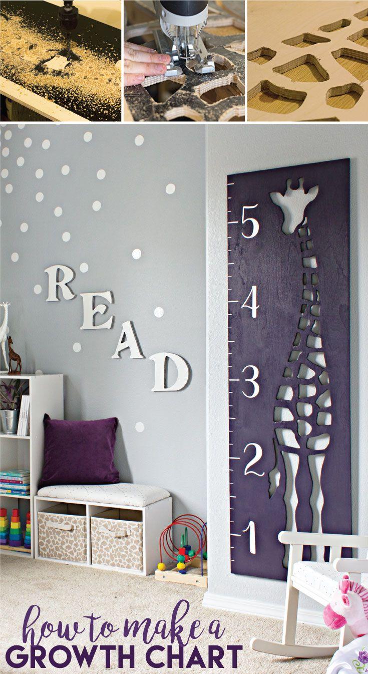 How to make a giraffe growth chart growth charts free printable giraffe diy wooden growth chart nvjuhfo Choice Image