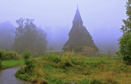 Located in Sognefjord in Norway, the Urnes Stave Church