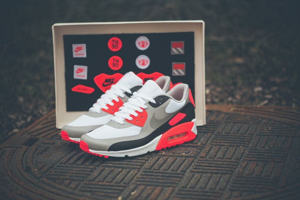 Nike Air Max 90 Infrared 'Patch' Pack 2 |