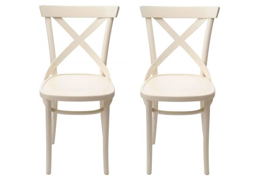 White Bentwood Chairs Sofaandhome Co Uk Products