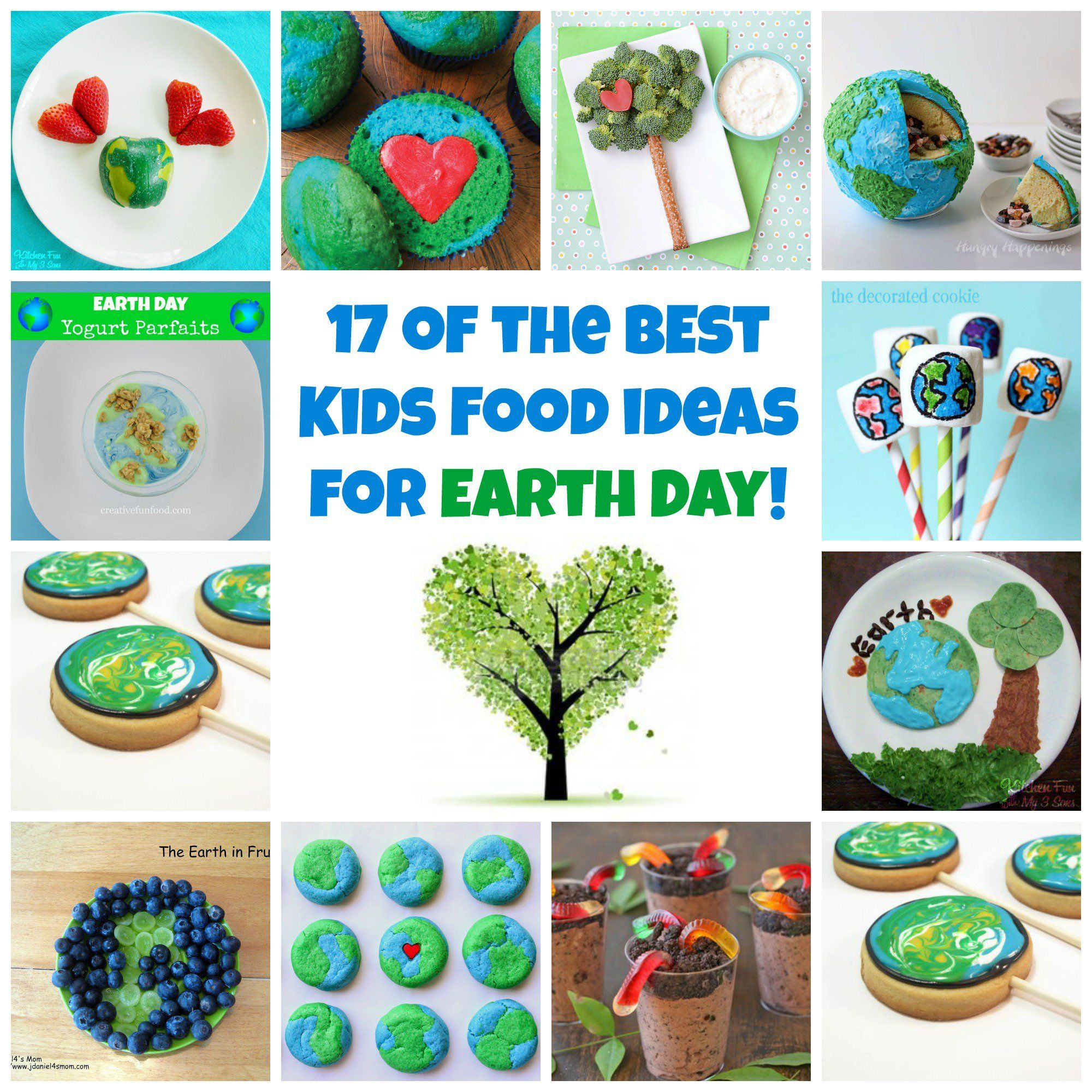 17 of the BEST Earth Day Fun Food & Recipe Ideas for Kids | Fun food ...