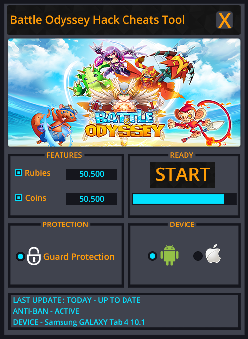 Odyssey Battle Hack Tool Free Download No Survey APK/IOS