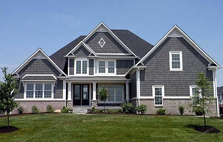 Plan 12053jl classic shingle style home traditional for Classic shingles