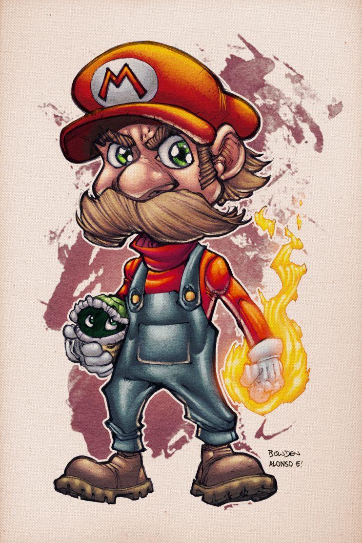 Mario by AlonsoEspinoza.deviantart.com on @deviantART