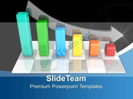 Bar Graphs Powerpoint Chart Structure Templates And Themes - graphs and charts templates