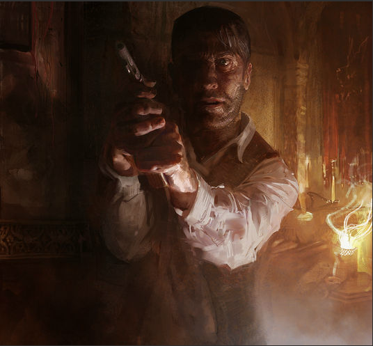 Craig Mullins Light Form Volume Composition Value Composition Presentation Angle Character Drawi Craig Mullins Call Of Cthulhu Urban Fantasy Character