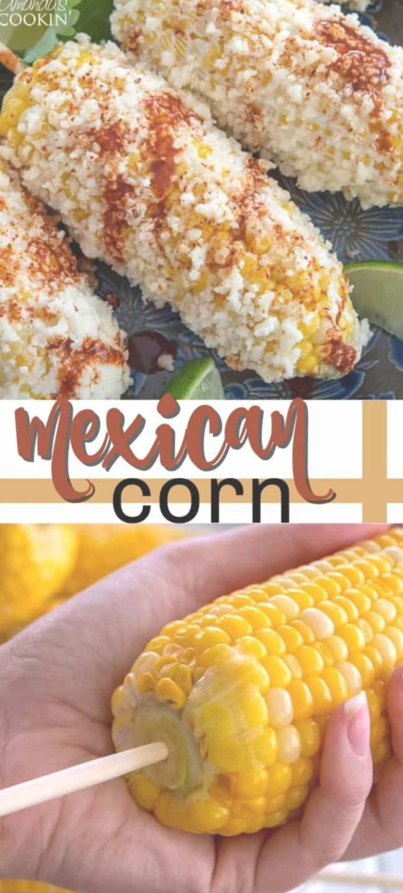 Mexican Corn on the cob with cheese mayo and Latin spices makes the best summer food Enjoy this Mexican street food anytime with this easy recipe