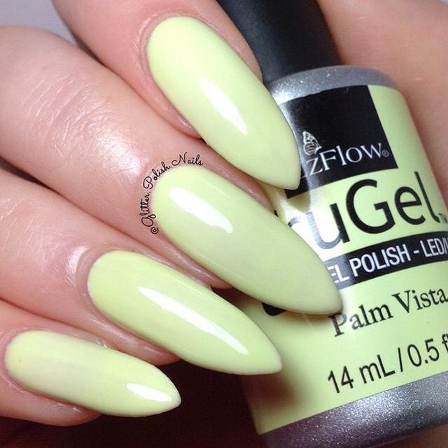 Perfect pastel! @glitter.polish.nails\' swatch of Palm Vista from the ...