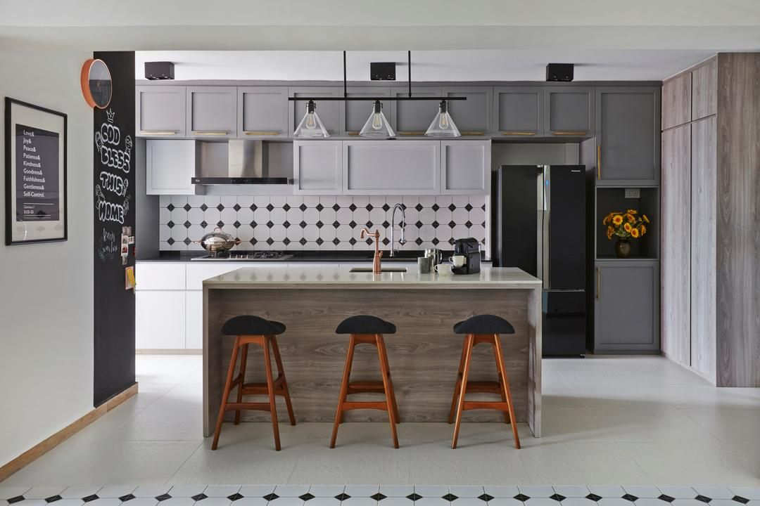 8 Maisonette Designs That Are A Step Up From Your Usual Hdbs Apartment Interior Design Kitchen Remodel Interior