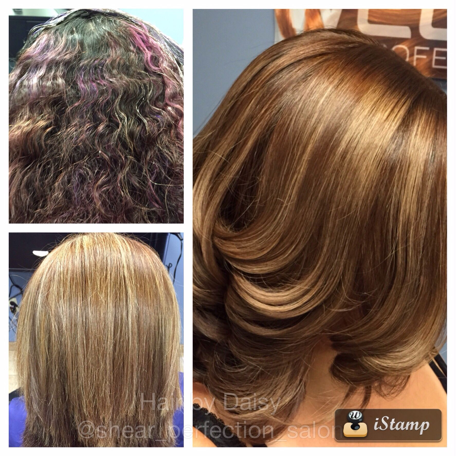 Major color correction done by Daisy at Shear Perfection Salon in ...