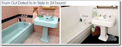 Miracle Method can provide porcelain bathtub repair to beautifully ...