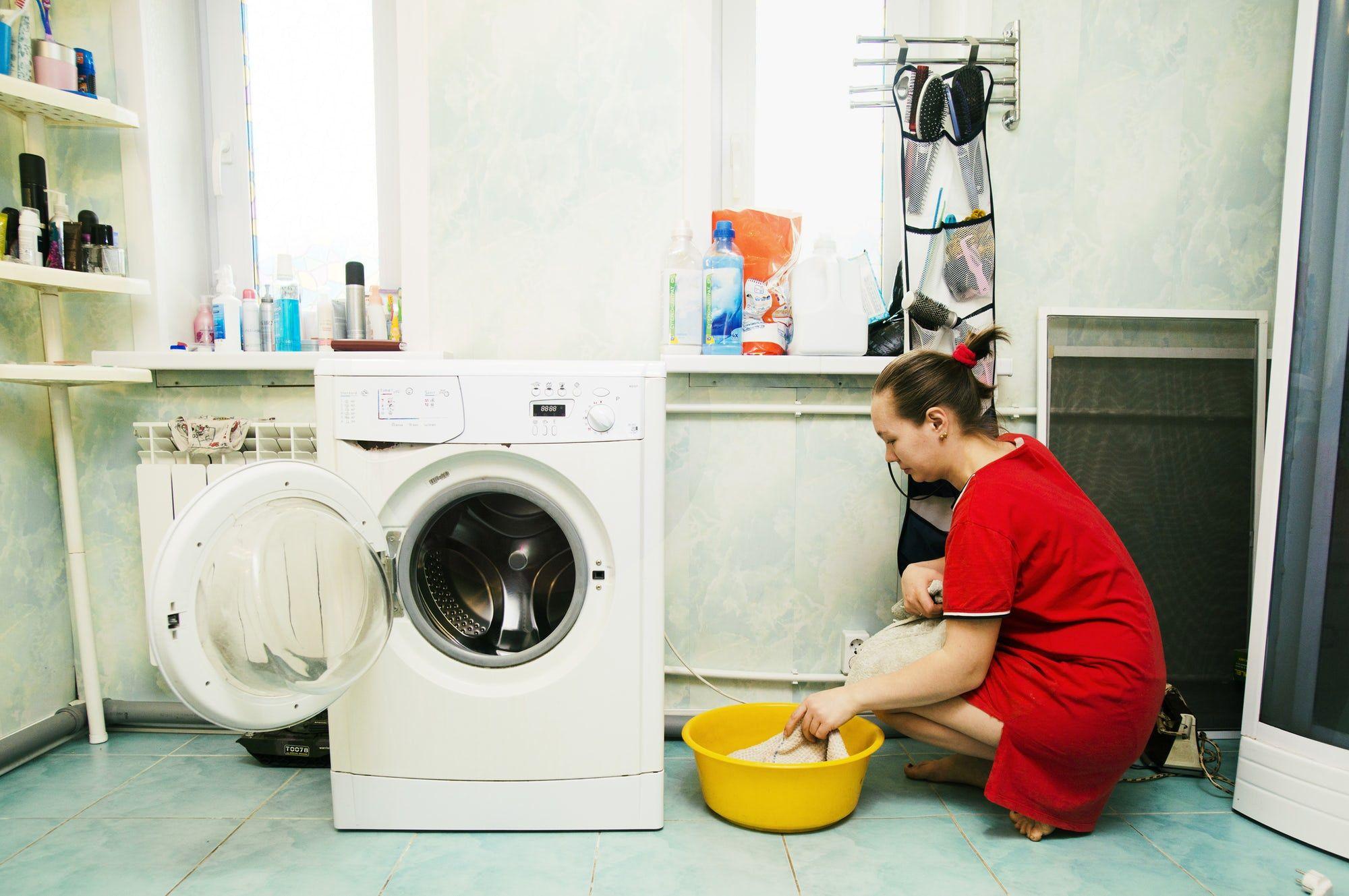 How to clean a washing machine drain washing machine
