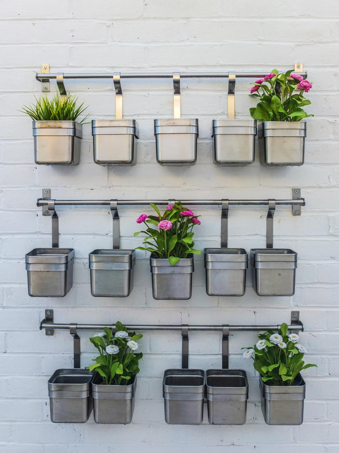 Recycled Pots To Create Your Very Own Miniature Herb Garden Diy