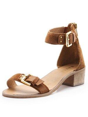 911bdef9045 Gerbera Two Part Block Heel Sandals