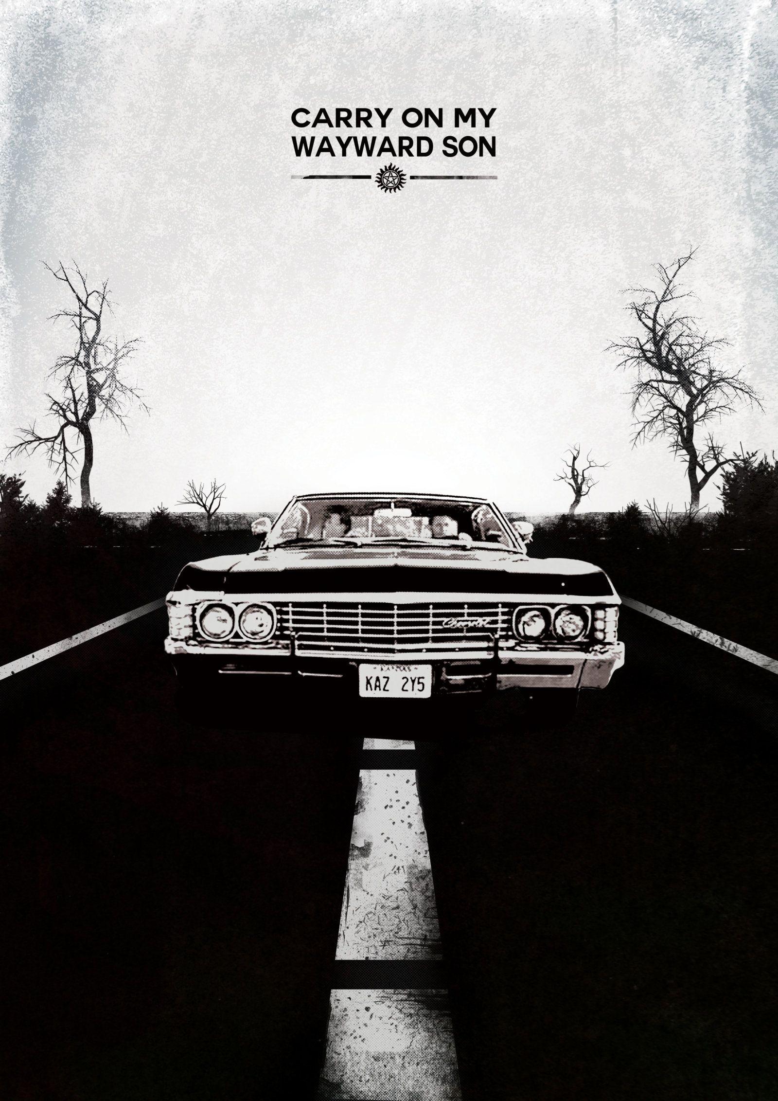 Supernatural Wayward One Supernatural Poster Supernatural
