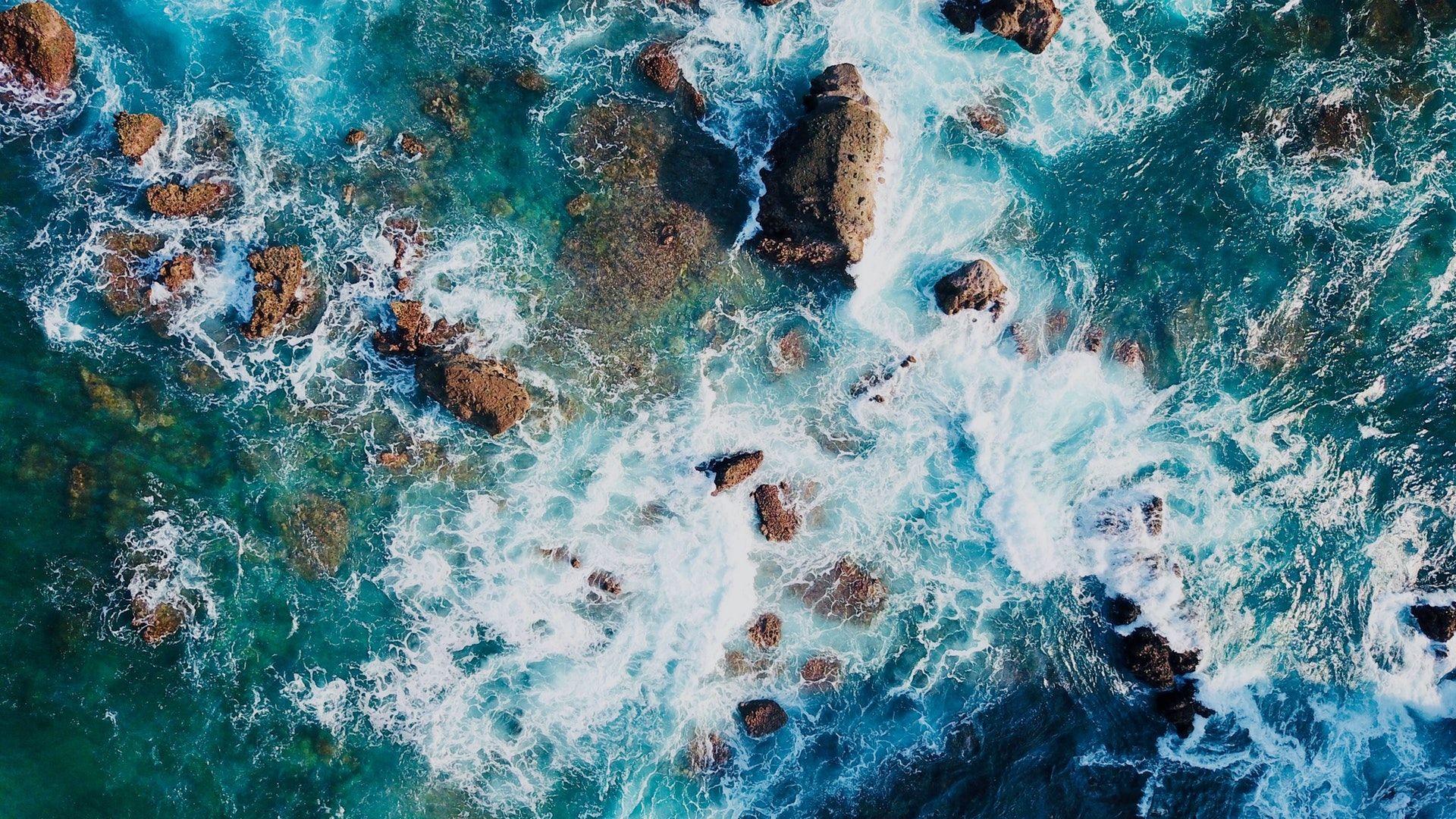 Water Foam At The Seaside Hd Wallpaper Free Image Download High Resolutio Summer Desktop Backgrounds Laptop Wallpaper Desktop Wallpapers Summer Wallpaper