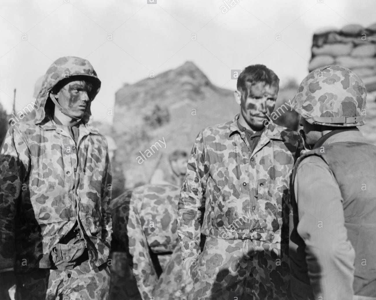 After a patrol, September 26, 1952   Korean war, Korean history, War  veterans