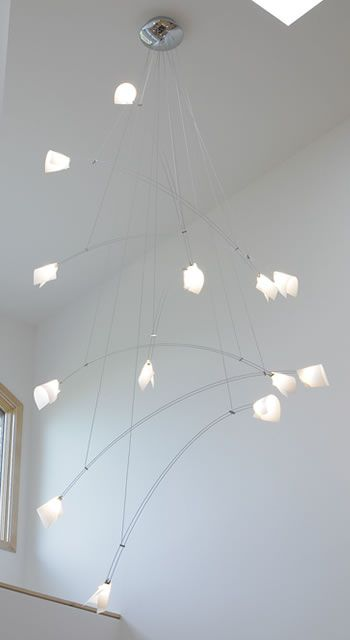 Tech lighting crescendo chandelier is as large as 48 wide x 14 foot tech lighting crescendo chandelier is as large as 48 wide x 14 foot long tech lighting chandeliers chandeliers and larger pendants aloadofball Gallery