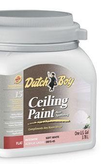 Dutch Boy Ceiling Paint Hides Surface