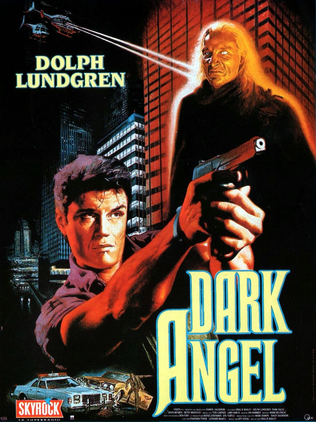 Dark Angel Aka I Come In Peace 1990 Craig R Baxley Dolph Lundgren Old Movie Posters Dark Angel